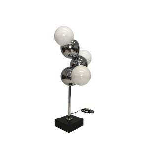 Mid Century Modern Robert Sonneman Molecule Table Lamp For Sale