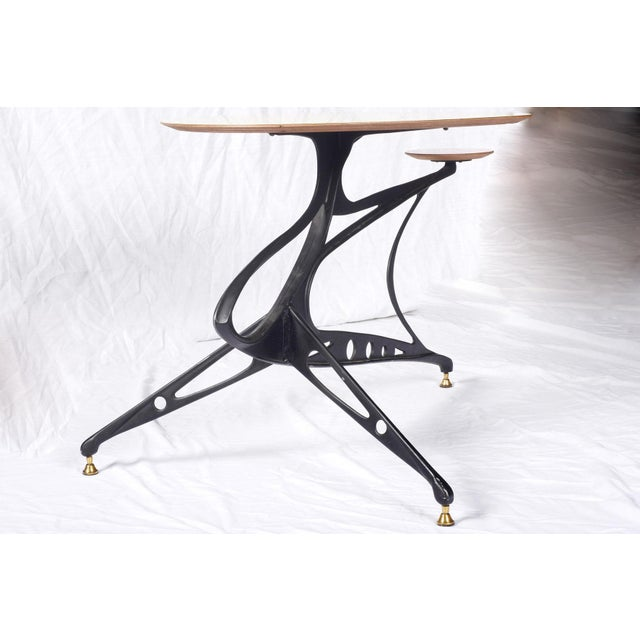Sculptural 1950s Italian Low Table For Sale - Image 4 of 7