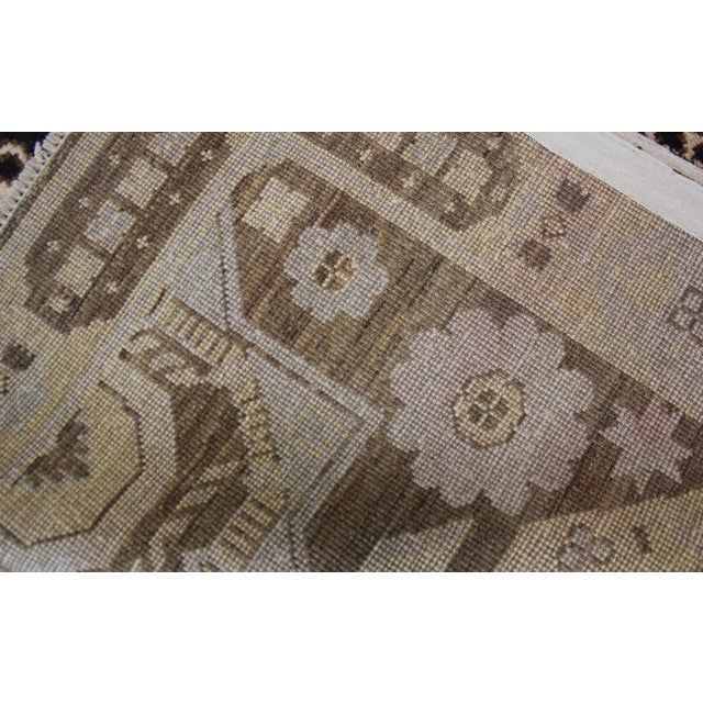 "Modern Hand Knotted Fine Oushak Rug by Aara Rugs Inc. - 8'11"" X 13'1"" For Sale - Image 3 of 5"