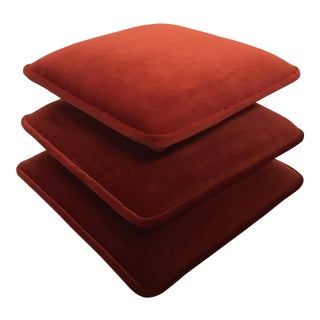 Stacked Cushion Ottoman