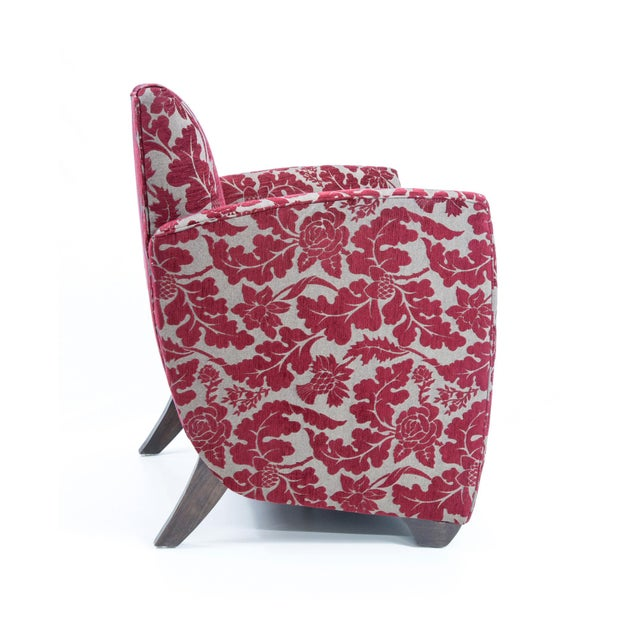 British Airways First Class Club Chair in Red Vine - Image 4 of 10