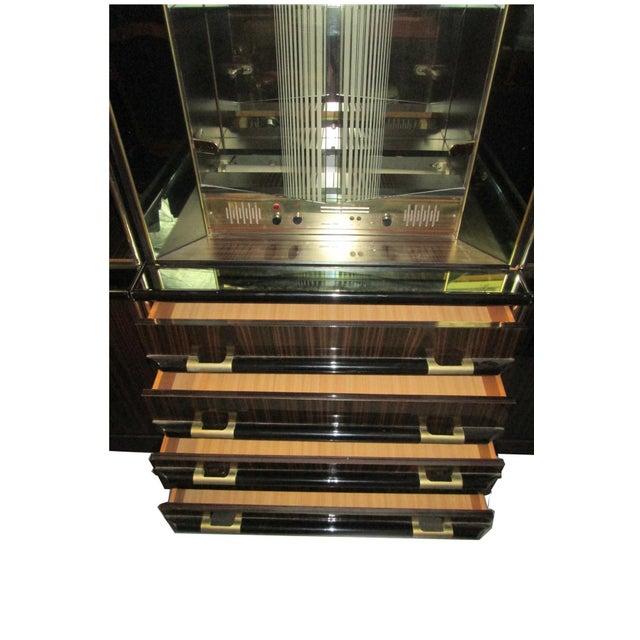 Illuminated Glass Curio Hutch & Mivox Stereo - Image 9 of 10