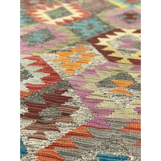 """Bellwether Rugs Wool Kilim Rug - 6'8"""" x 10' - Image 11 of 11"""