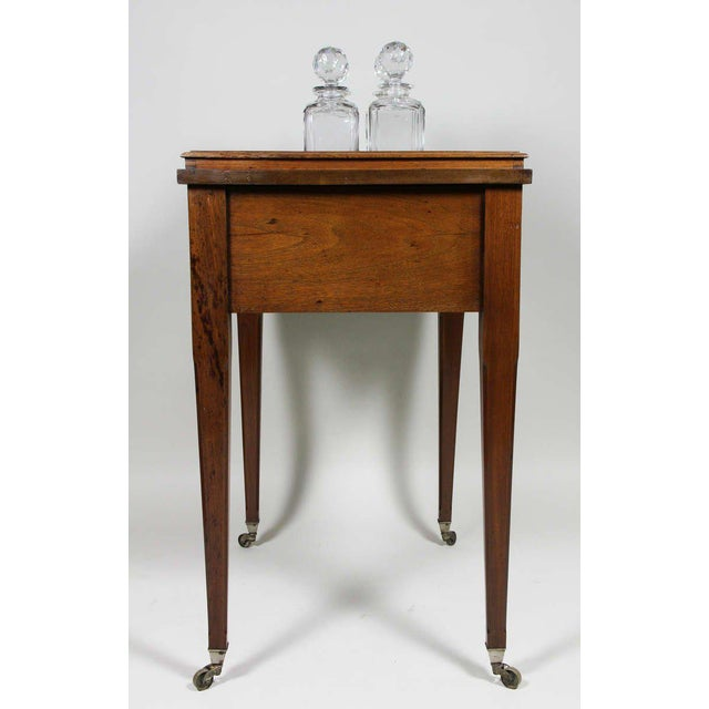 Brown Aspreys London Mahogany Drinks Table For Sale - Image 8 of 10