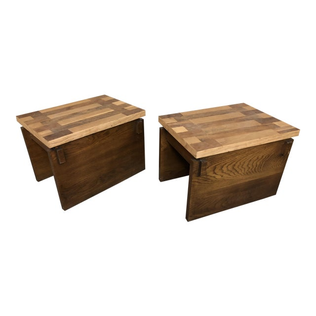 1970s Mid Century Modern Lane End Tables - a Pair For Sale