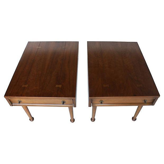 American of Martinsville Mid-Century End Tables - Pair - Image 2 of 7