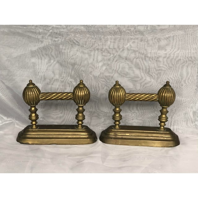 Antique Victorian Fire Dogs- a Pair For Sale - Image 13 of 13