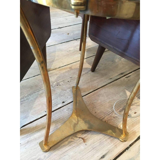 Brass Solid Brass Military or Marching Band Snare Drum Converted to Table, Early 1900s For Sale - Image 7 of 8