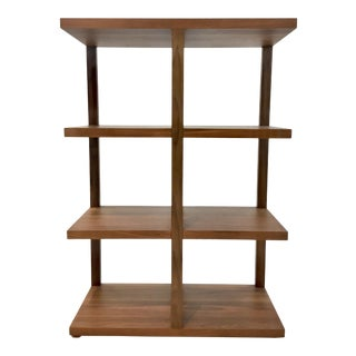 Modern Calvin Klein Wood Bookshelf For Sale
