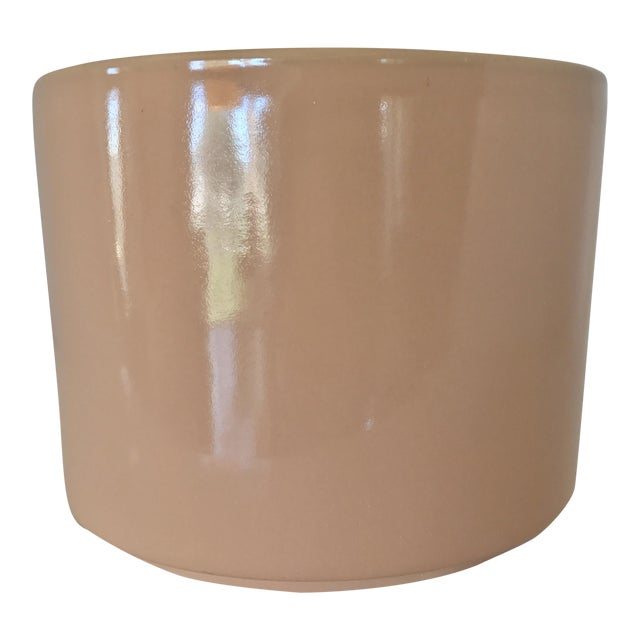 Gainey Mid Century Modern Pink Tabletop Planter - Image 1 of 9