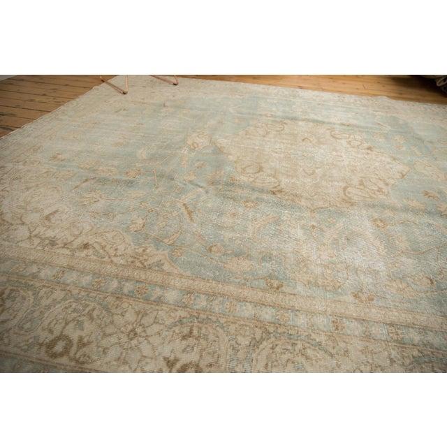 "Vintage Distressed Sivas Carpet - 8'7"" X 11'1"" For Sale - Image 4 of 12"