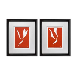 1930s Vintage Henri Matisse Original Linocut Prints - A Pair For Sale