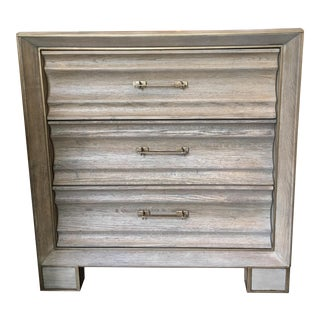 New Chest of Drawers /Bedside Chest in Washed Oak Made by Gabby Furniture For Sale
