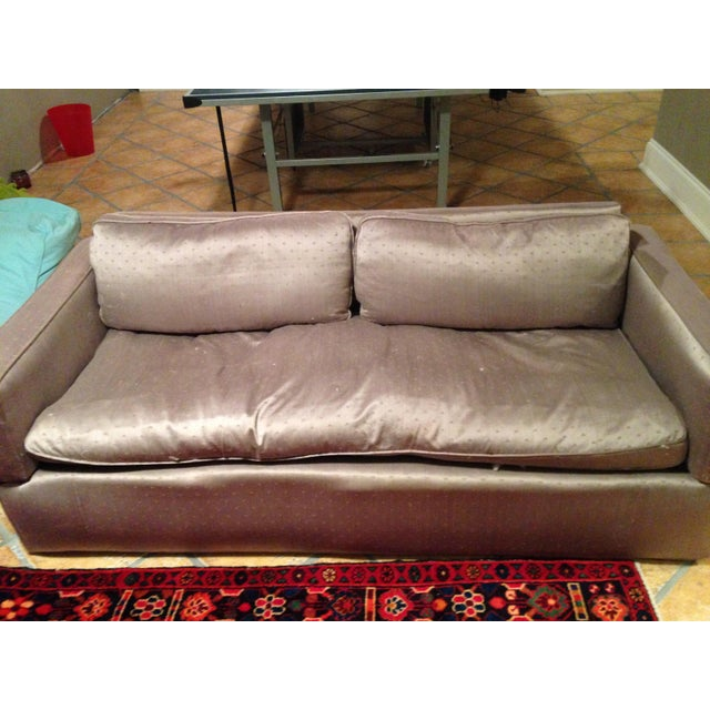 Down Filled Twin Size Sleeper Sofa - Image 3 of 11