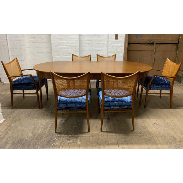 Set of 6 Erno Fabry Cane Back Dining Chairs For Sale - Image 9 of 10