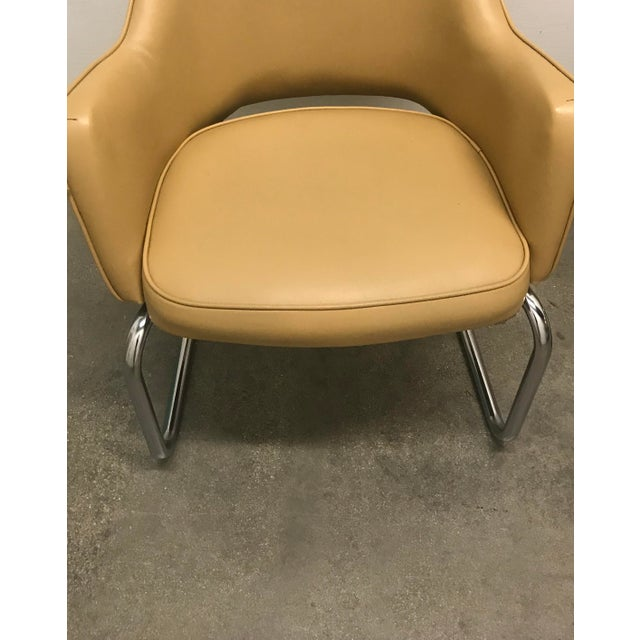 Eero Saarinen Style Chairs - a Pair For Sale - Image 9 of 11