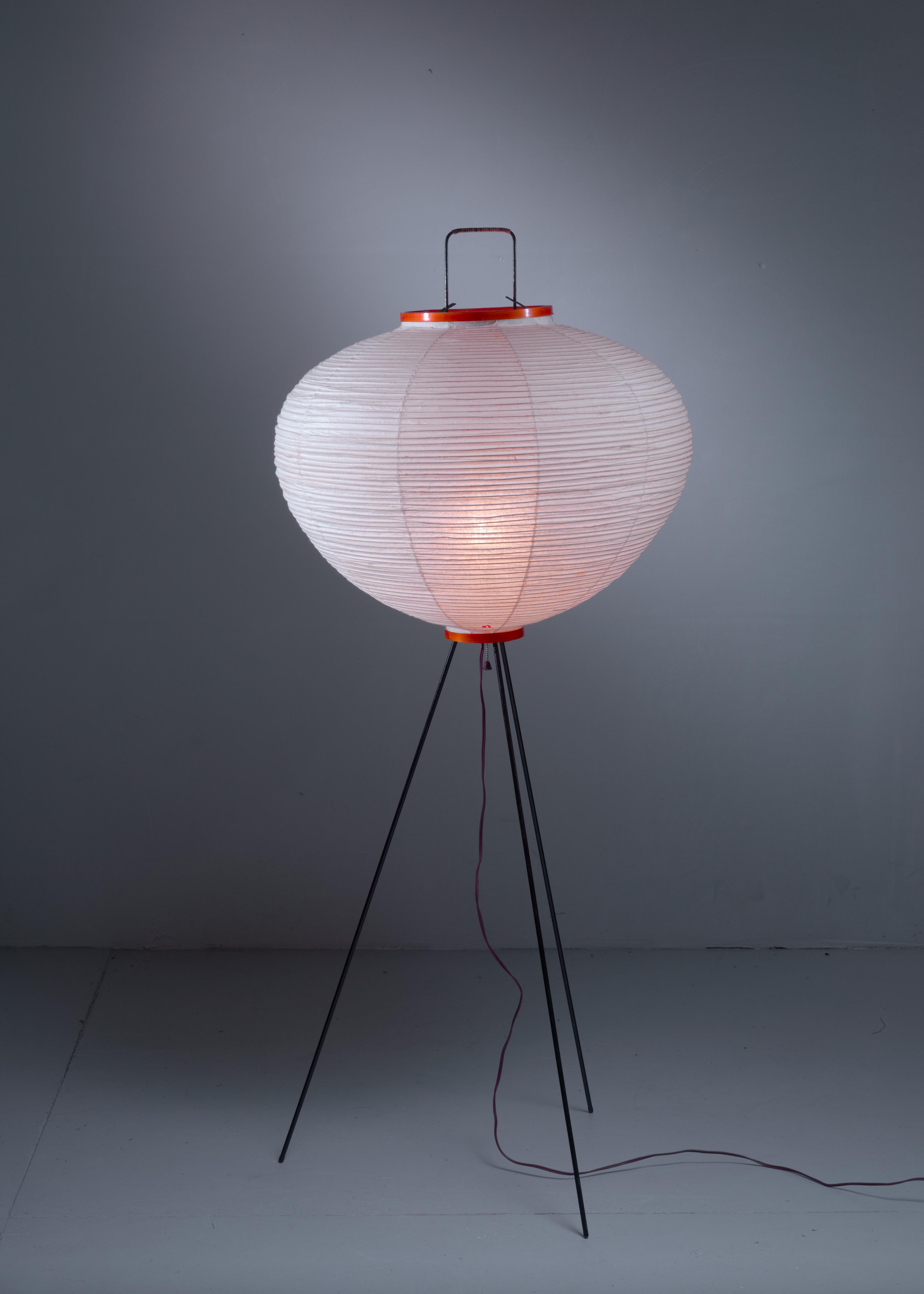 Sophisticated Isamu Noguchi Floor Lamp by Gifu Japan in ...