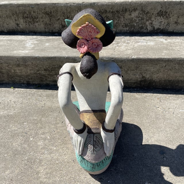 Stone Polynesian Figural Sculpture For Sale - Image 4 of 5