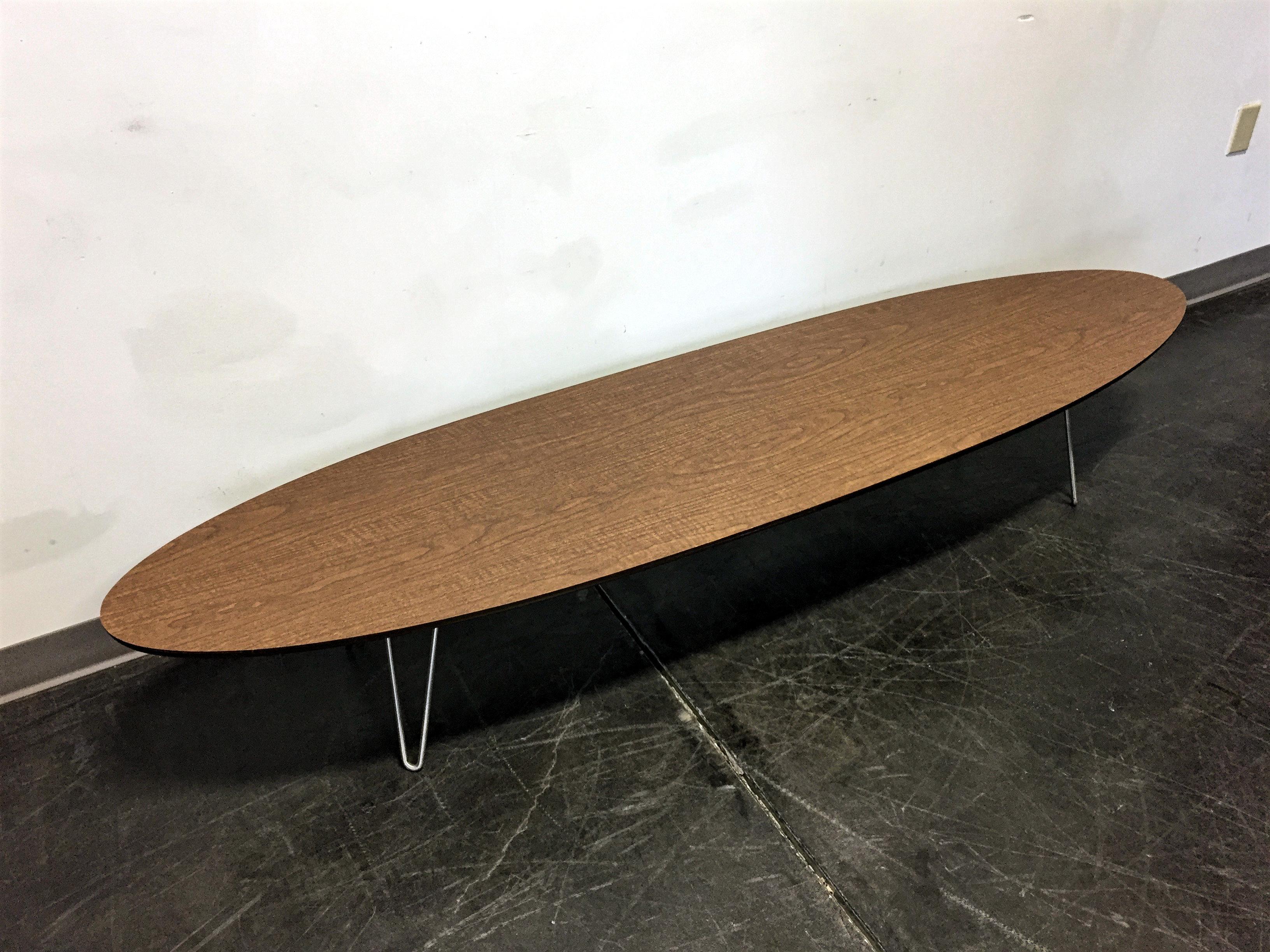 Lane Altavista Mid Century Modern Surfboard Coffee Table Image 6 Of 11