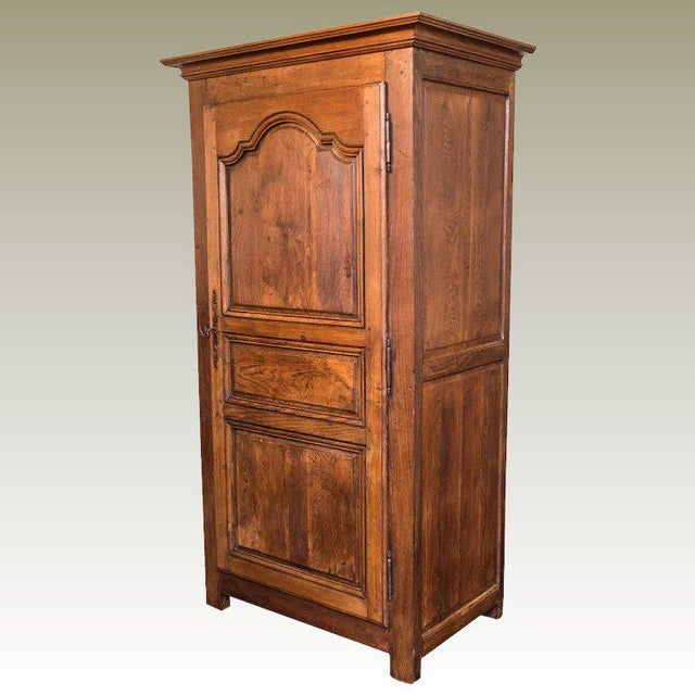 18th Century Louis XIV Armoire Bonnetiere - Image 11 of 11