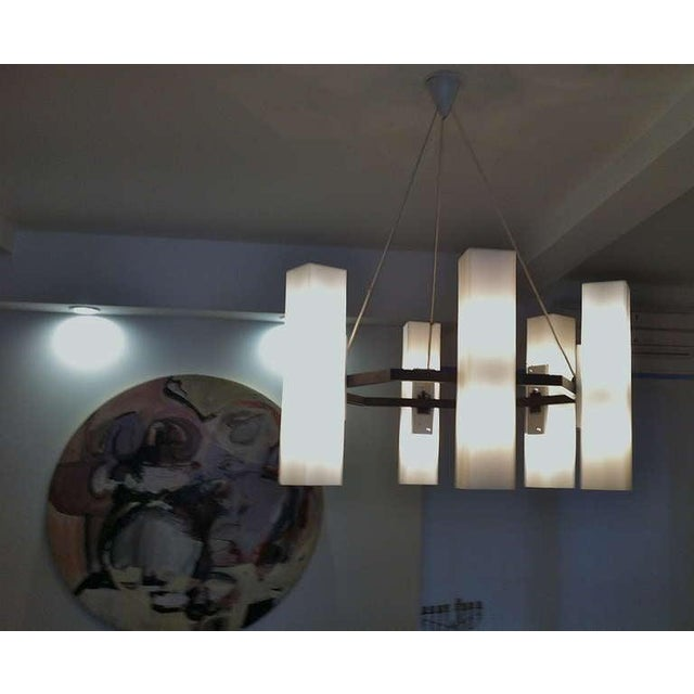 Chandelier by Jan Wahlman, Sweden / 2 Available For Sale In New York - Image 6 of 7