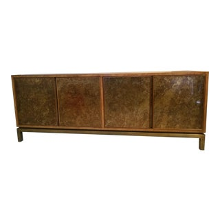 John Widdicomb Acid Washed Bronze Sideboard For Sale