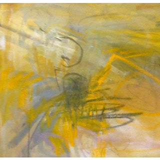 """""""Sunflowers"""" by Trixie Pitts Abstract Expressionist Oil Painting Preview"""