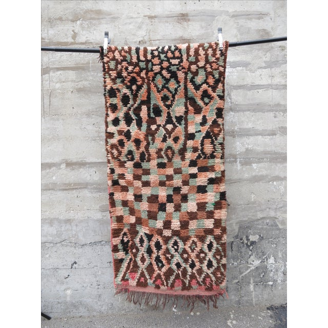 Contemporary Moroccan Berber Rug - 2′11″ × 6′2″ For Sale - Image 3 of 3