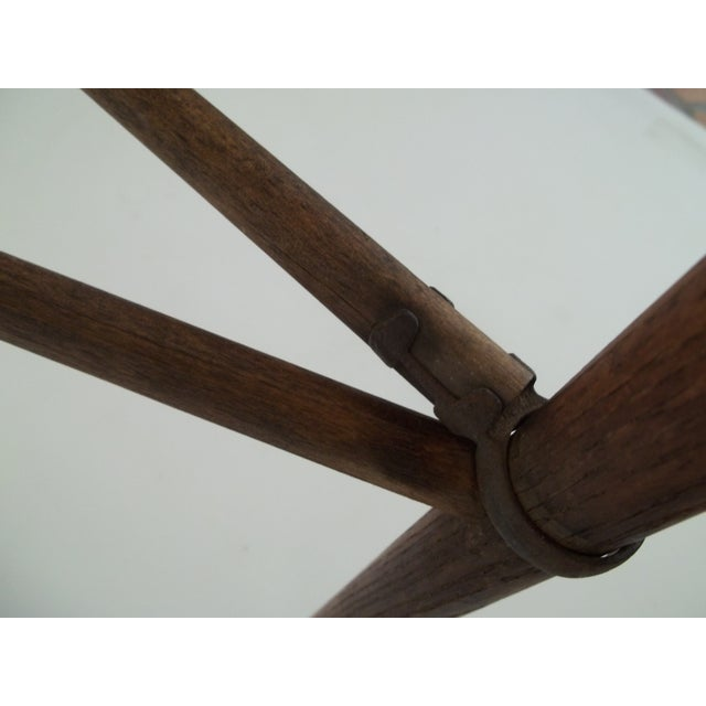 Antique Colonial Oak Drying Rack - Image 6 of 6