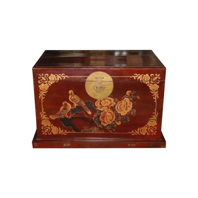 Painted and Gilt Chinese Trunk C.1925 - Image 1 of 8