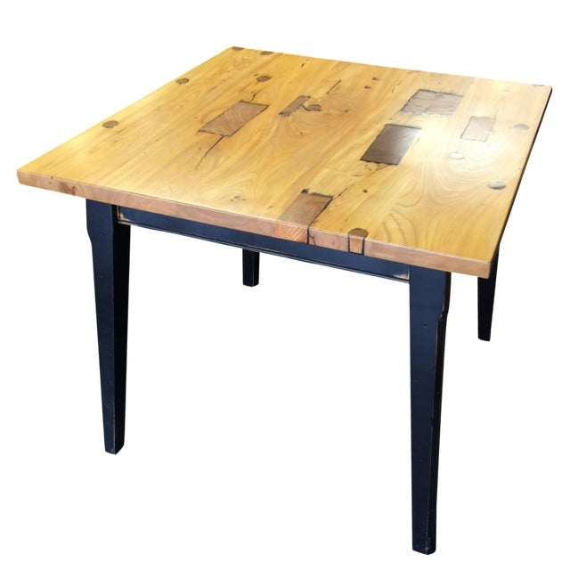 Rustic Two-Toned Dinette Table - Image 1 of 6