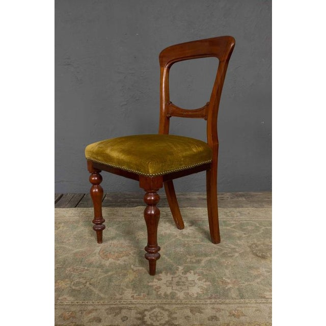 Single Mahogany Side Chair, William IV English - Image 2 of 11