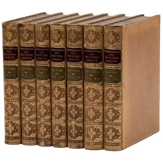 Hayward's Biographical and Critical Essays, Seven Volume Set For Sale
