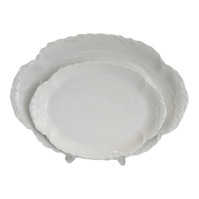 Antique French Haviland Platters - Set of 2 - Image 1 of 8