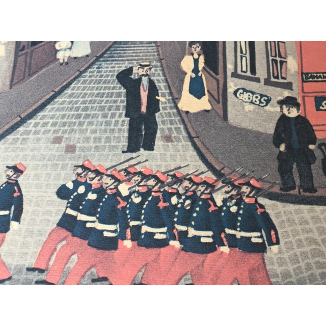 """1980's French """"Parade"""" Fine Stone Lithograph, Delacroix - Image 4 of 7"""