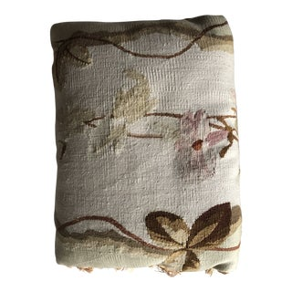Antique Tapestry Pillow For Sale