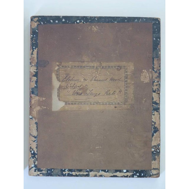 Late 19th Century English Victorian Pyrography Etchings on Charred Wood After Abbott Henderson Thayer - a Pair For Sale In New York - Image 6 of 7