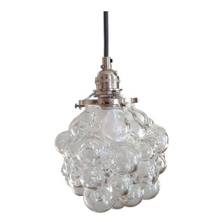 Vintage Helena Tynell Style Bubble Glass Pendants For Sale