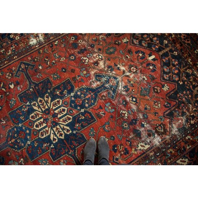 "Vintage Distressed Bakhtiari Carpet - 8'7"" X 11'8"" - Image 2 of 10"