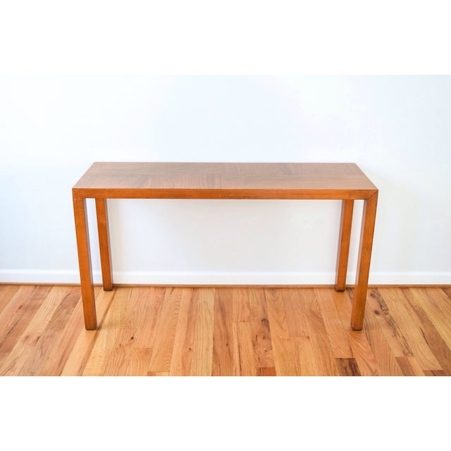 Mid-Century Vintage Lane Sofa Console Table - Image 5 of 9
