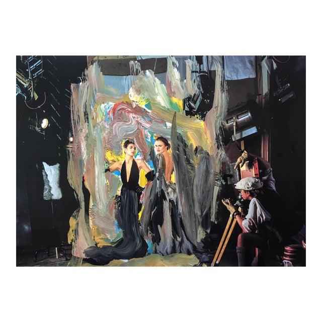"""""""The Photo Shoot"""", 7 x 6 Print of Acrylic Over Painting by Erik Sulander - Image 1 of 3"""