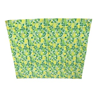 Vintage Mid-Century Lemons and Limes Tablecloth For Sale