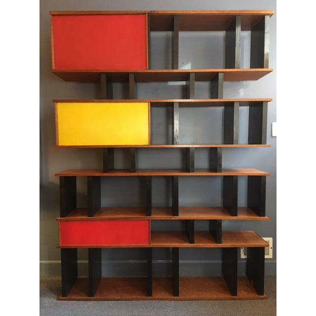 Charlotte Perriand and Jean Prouve Style Shelving System For Sale - Image 12 of 13