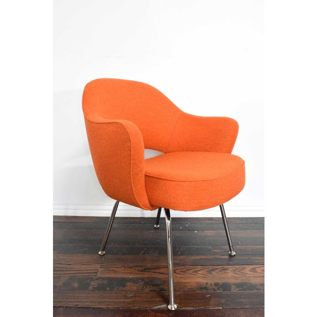 Knoll Eero Saarinen Executive Armchair For Sale In Dallas - Image 6 of 10