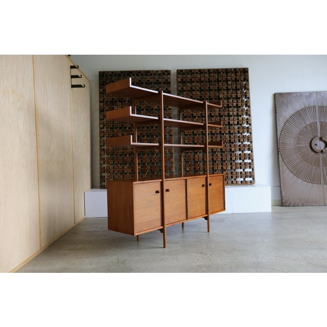 Milo Baughman for Glenn of California Wall Unit For Sale In Los Angeles - Image 6 of 11