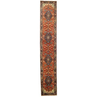 """Pasargad N Y Fine Serapi Design Hand-Knotted Rug - 2'8"""" X 15'5"""""""