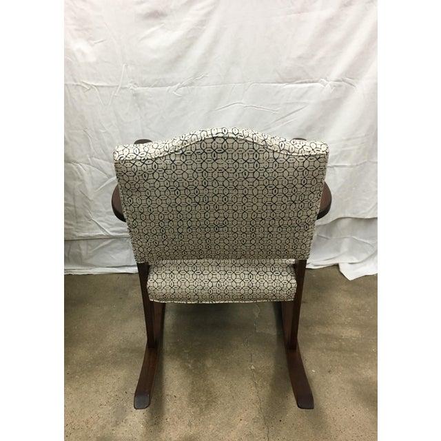 Vintage Granny Rocker Chair For Sale - Image 5 of 5