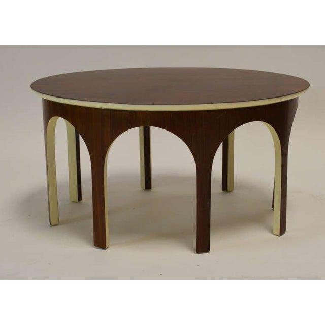 T.H. Robsjohn-Gibbings Robsjohn-Gibbings Colosseum Cocktail Table For Sale - Image 4 of 4