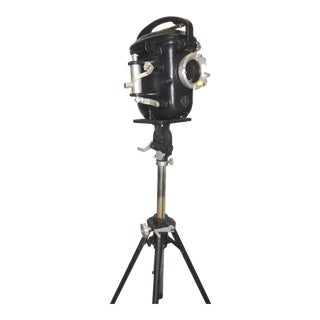 Bolex Underwater Cinema Camera Housing With Tripod, Vintage, Classic, Sculpture For Sale