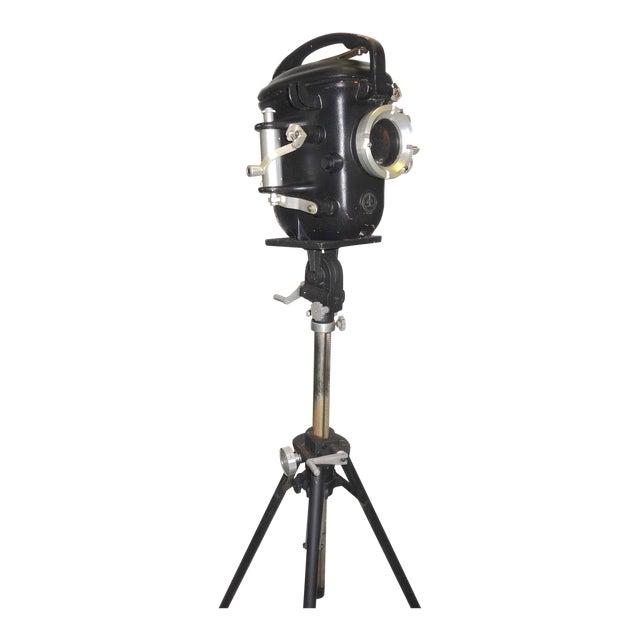 Bolex Underwater Cinema Camera Housing With Tripod, Vintage, Classic, Sculpture For Sale
